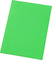 Доска разделочная 500х350х18 зеленый полипропилен