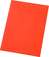 Доска разделочная 500х350х18 красный полипропилен