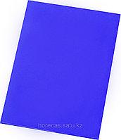 Доска разделочная 500х350х18 синий полипропилен