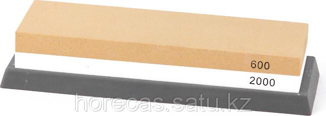 Камень точильный комбинированный 600/2000 Premium Luxstahl [006]