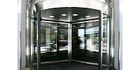 Карусельные револьверные двери Besam (Швеция)