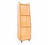 Шкаф-стеллаж для игрушек и пособий узкий
