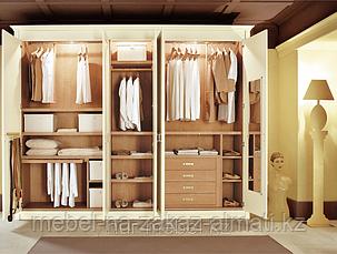 Встраиваемая мебель на заказ, гардеробные комнаты, фото 2