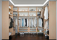 Встраиваемая мебель на заказ, гардеробные комнаты, фото 1