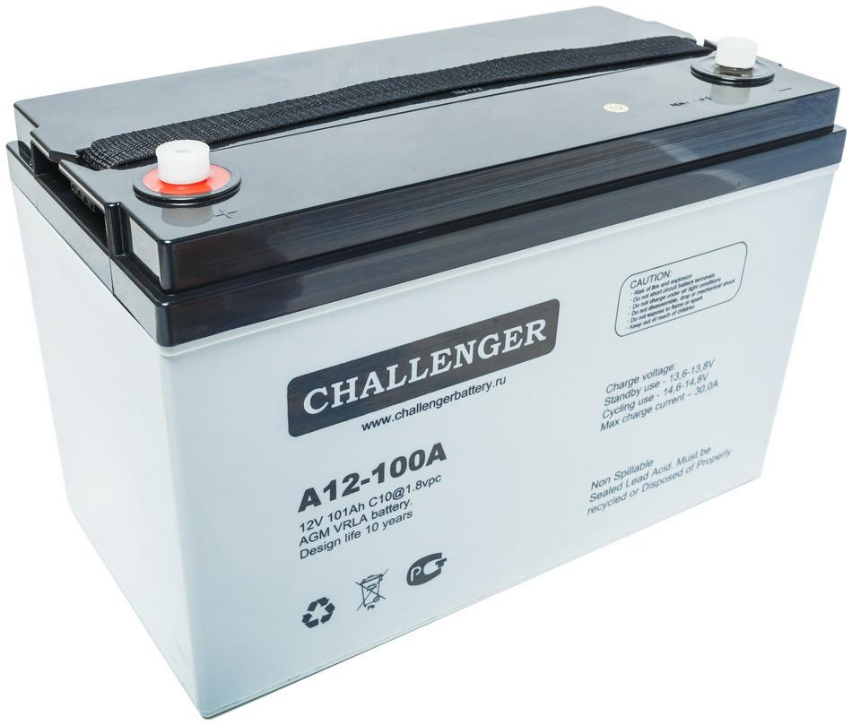 Аккумуляторная батарея CHALLENGER A12-100A для источников бесперебойного питания