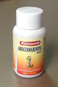 Арогьявардхини Бати, Байдьянахт  (Arogyavardhini Bati, Baidyanath) 80таб. Гепатопротектор, желчегонное