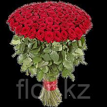 101 голландская роза 80см