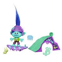"Hasbro Фигурка ""Тролли"" - Цветан на скейте, 10 см, фото 1"