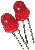 Светодиод LED красный АЛ 307 БМ AL307BM Советский индикатор