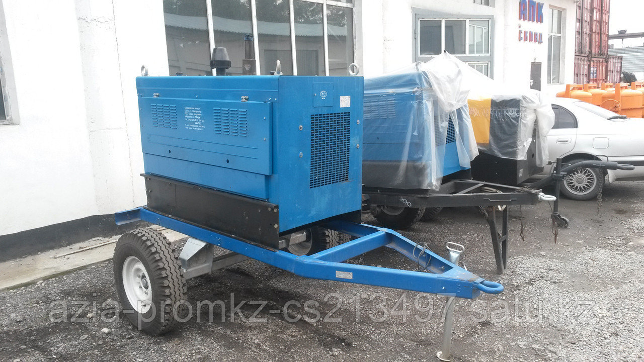 Сварочный дизельный агрегат АДД 4004.6П+ВГ