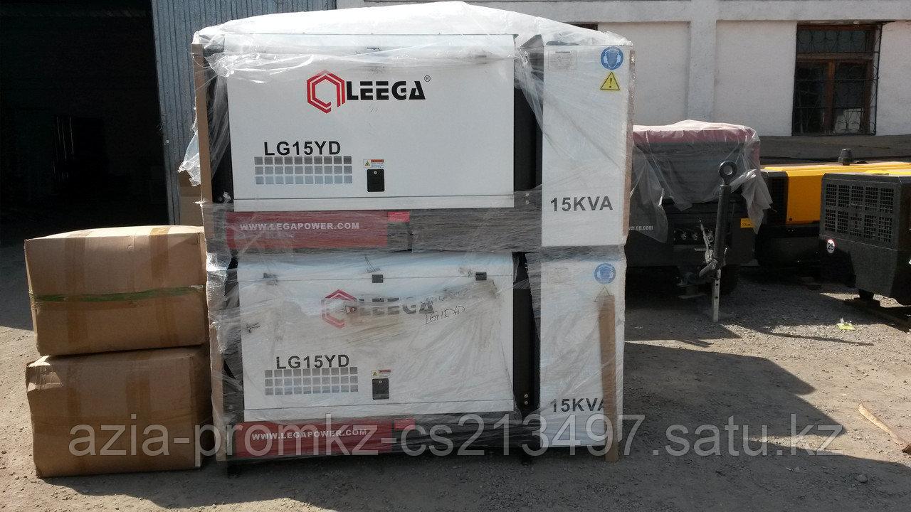 Дизельная электростанция  LEEGA LG15YD в кожухе
