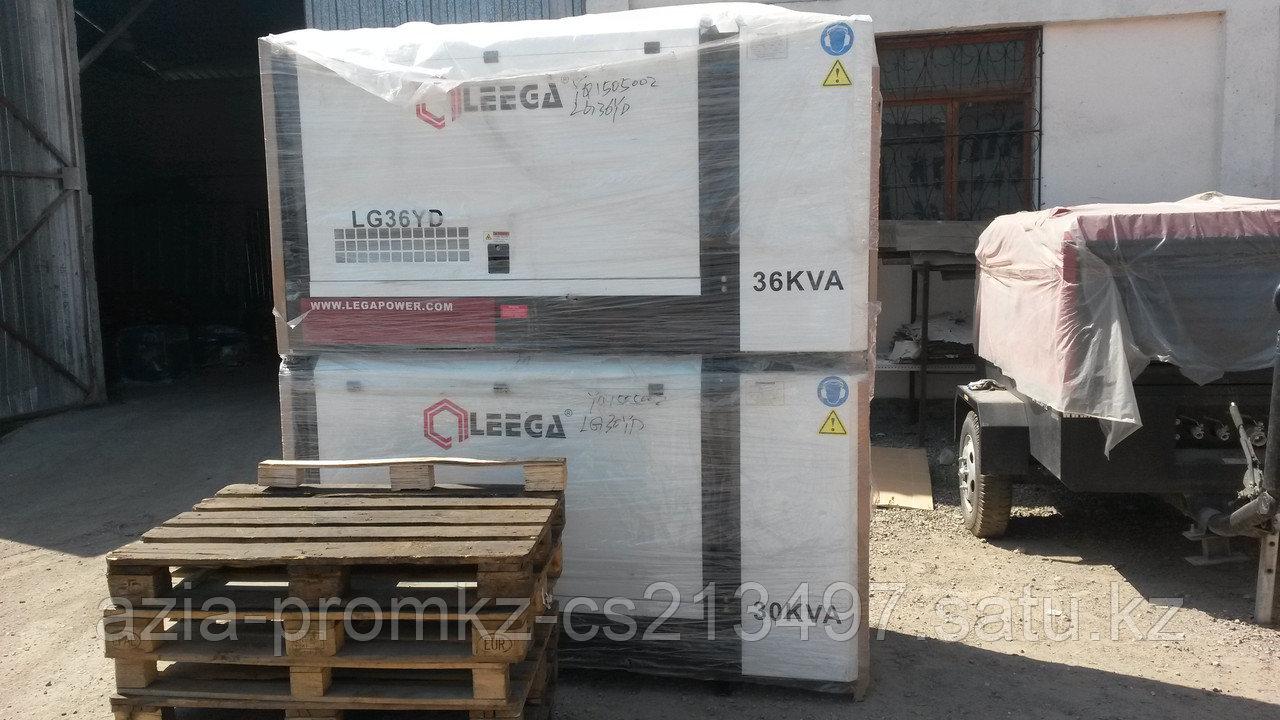 Дизельная электростанция LEEGA LG30YD в кожухе