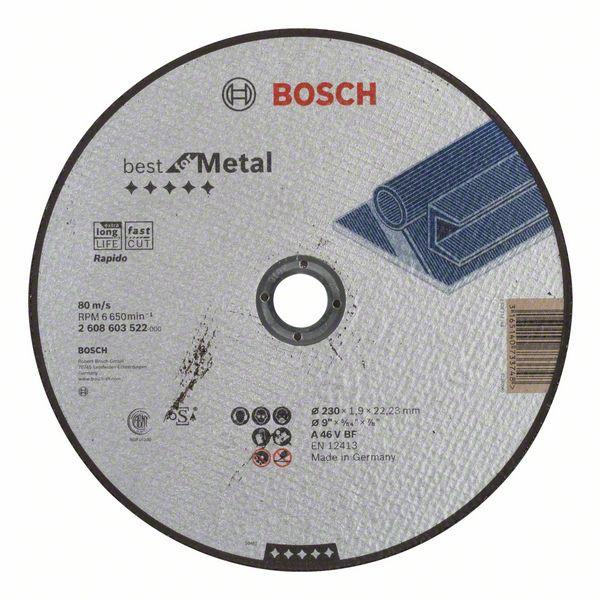 Отрезной диск Bosch Metal 230*1,9 мм прямой (2608603400)