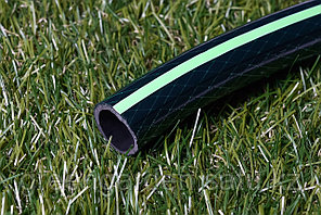 """Поливочный шланг зеленый с полосой  d 15/45m. Производство -Иран. """"Green Garden"""""""