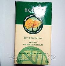 Омолаживающая сыворотка для лица Био Одуванчик, Биотик (Bio Dandelion, Biotique) 40 мл