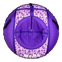 ТЮБИНГ комплект надувных санок  (оболочка, камера, упаковочная сумка) D110 см Рисунок