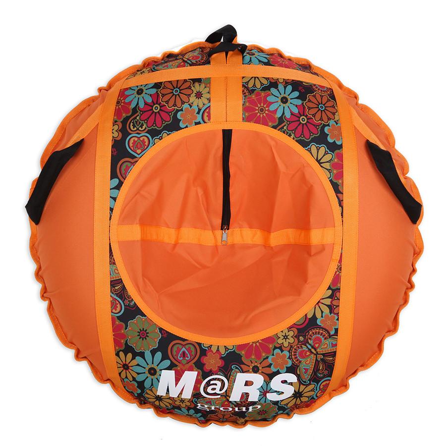 ТЮБИНГ комплект надувных санок (оболочка, камера, упаковочная сумка) D90 см Рисунок
