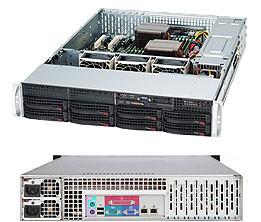 Сервер Supermicro CSE 825TQ-R720/X10DRi/2xIntel E5 2620v4/128GB ECC/RAID 9260+BBU/2*300GB SAS/4x1TB ES3/2*720W PS