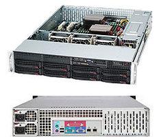 Сервер Supermicro CSE 825TQ-R720 /X10DRi /2x2620v4/128GB /9260+BBU/2*300GB SAS/4x1TB ES3/2*720W PS