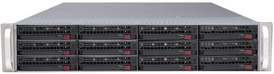 Сервер Supermicro CSE-826BE1C-R920LPB / X10DRi/E5-2650v4 /128GB ECC DDR4 /9341-8i /3*600GB SAS /920W
