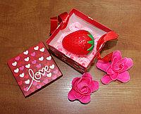 Beauty подарок для девушек (Крем для рук-клубника), фото 1