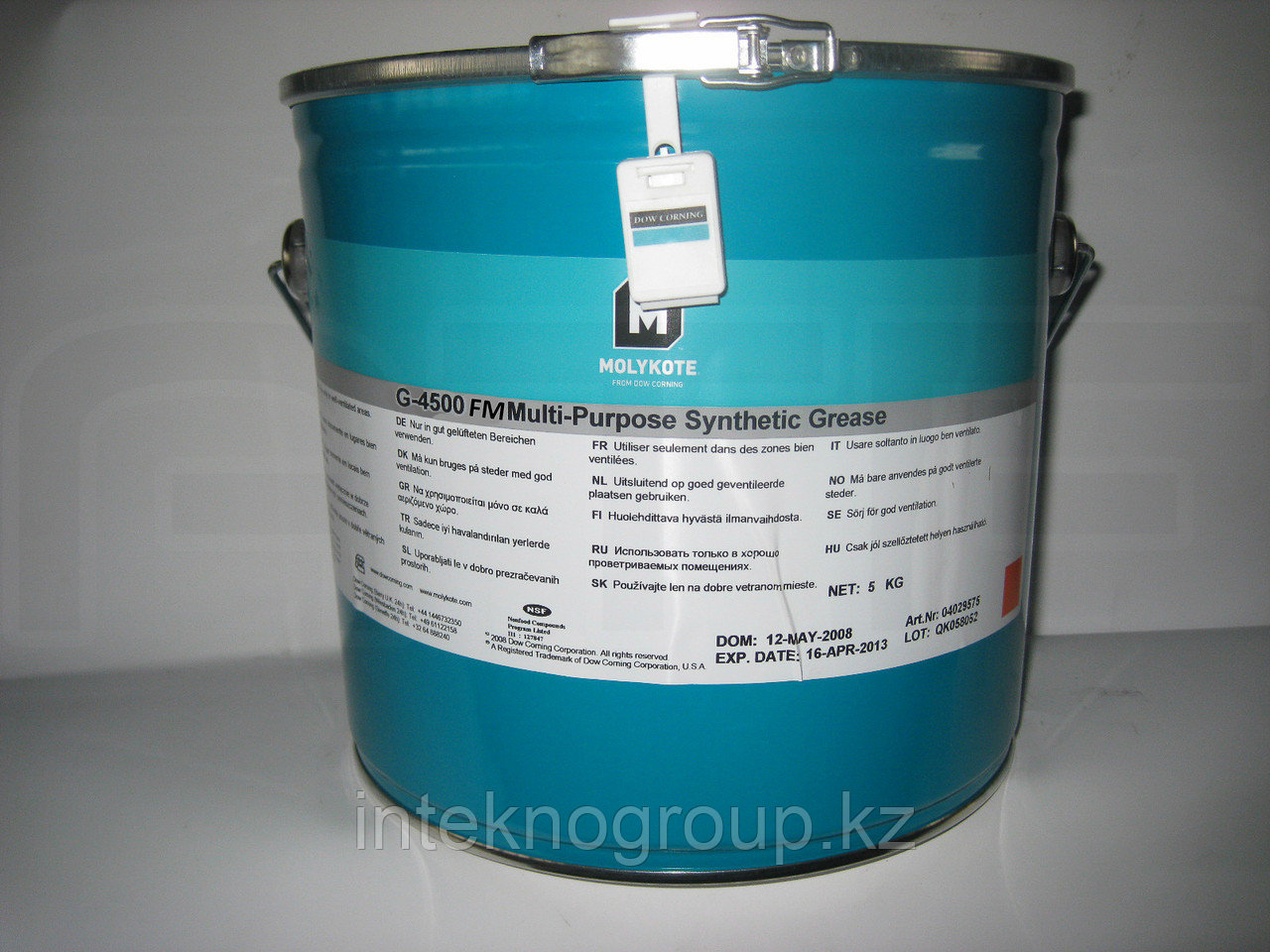 Dow Corning Molykote G-4500 paste 5kg