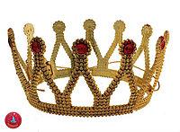 Корона принцессы с камушками, большая