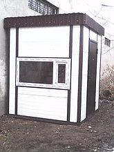Здания из сэндвича  мобильные 4-5 кв.м.