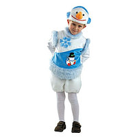 Карнавальный костюм Снеговичок Снеговишка