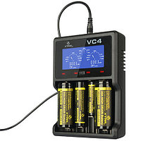 Четырехканальное зарядное устройство для аккумуляторов XTAR VC4 для Li-Ion / Ni-Mh