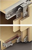 Комплект Slido Classic 50 VF SR, для 2 дверных полотен, 19-21 мм, фото 1