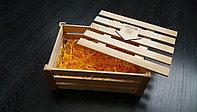 Коробка деревянная с крышкой для подарка 15*15*18см.