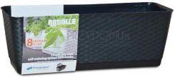 Горшок для цветов балконный плетеный RATOLLA PW-DRL 400 PW Prosperplast Польша