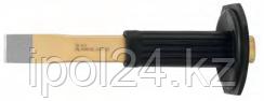 Шлицевое зубило прямое HS: с защитой для рук 240x26x7 mm