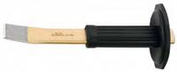 Шлицевое зубило наклонное HS: с защитой для рук 240x26x7 mm