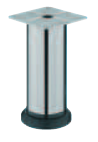 Мебельная ножка,сталь,хром мат,6х38мм высота 150-170мм, фото 1