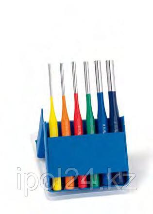 Выколотки в наборах, пластиковый держатель Эксклюзив многоцветные