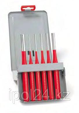 Выколотки в наборах, пластиковый держатель Эксклюзив красный