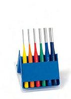 Выколотки в наборах, металлическая кассета Эксклюзив многоцветные