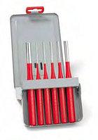 Выколотки в наборах, металлическая кассета Эксклюзив красный