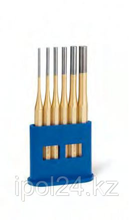 Выколотки в наборах, металлическая кассета Стандарт золотистый