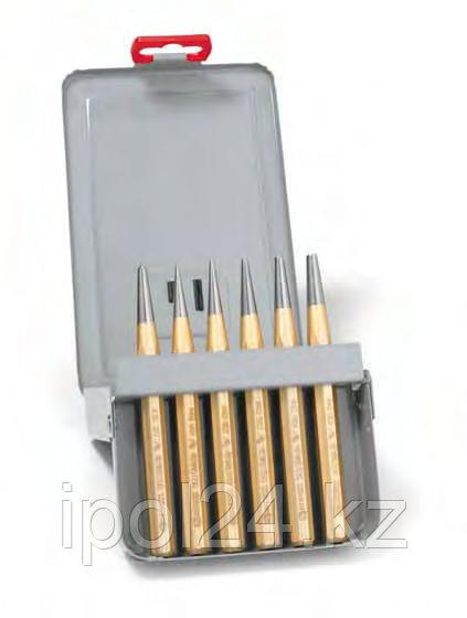 Набор пробойников в металлической кассете