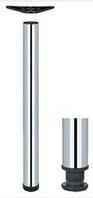 Ножка для стола Rondella, сталь, 710 мм, D 60 мм, хром, полированная