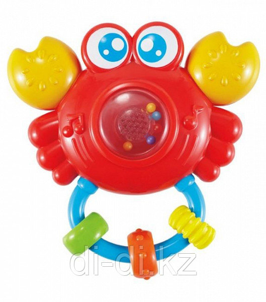 Игрушка Крабик,  свет, звуки, элементы питания входят в комплект