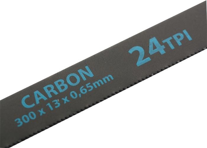 (77719) Полотна для ножовки по металлу, 300 мм, 24TPI, Carbon, 2 шт.// GROSS