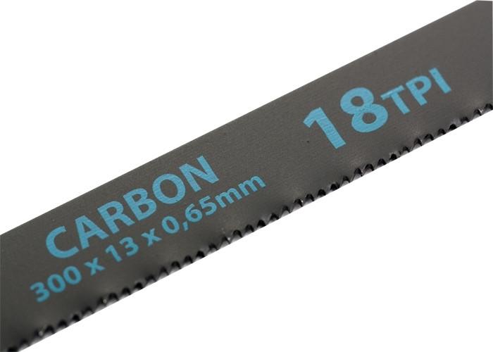 (77720) Полотна для ножовки по металлу, 300 мм, 18TPI, Carbon, 2 шт.// GROSS