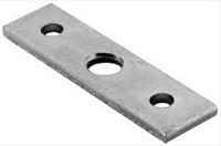 Крепежная пластина для регулировочной ножки М 10, сталь, гальванизированная, фото 1