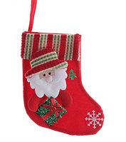 "Носок для подарка ""Дед Мороз с гостинцем"""