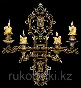 """Набор для вышивания крестом """"Вечер при свечах"""""""