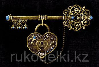 """Набор для вышивания крестом """"Ключ счастья"""""""